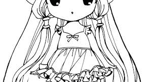 Anime Coloring Pages Chibi Anime Witch Coloring Pages Anime Coloring