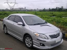 Modified Corolla Altis - comments pls + advice on dashtop etc ...