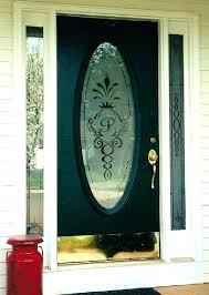 replace glass panels in front door replacing glass door delightful design replace glass panel in door
