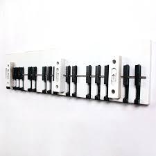 Coat Key Rack Wall Hooks For Coats Creative And Modern Piano Hook Coat Rack Wall 59