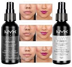 makeup setting spray dewy finish long lasting daily nyx