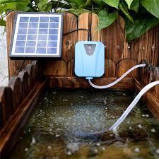 GOODSHOP] Bơm Hơi Bể Cá Tiết Kiệm Năng Lượng, Năng Lượng Mặt Trời Powered  Oxy Máy Bơm Oxy Nước | Máy bơm hồ cá