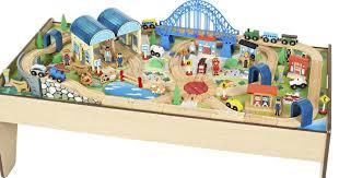 marvellous toy train table sets s best image engine