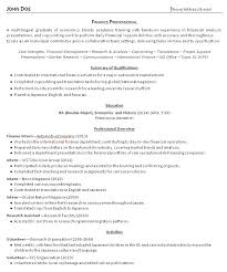 Gallery Of College Grad Resume Template