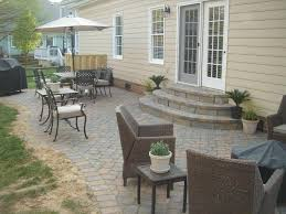 Exterior:Splendid Outdoor Stairs Exterior Ideas With Black Ceramic Steps  Plus Brick Fence Breathaking Half