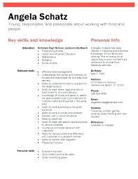 Sample Resume Objectives For High School Students Samples Lovely