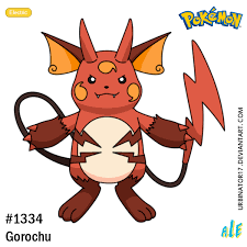 Pokemon Murkrow Evolution Chart Gorochu By Urbinator17 Pokemon Pikachu New Pokemon
