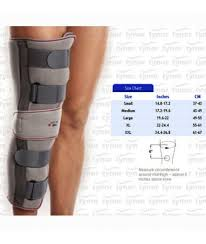 Tynor Knee Immobilizer 14 Brace Support Alluminium Splint Xxl