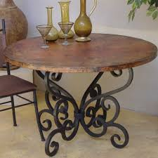 captivating iron and wood dining table best ideas about table bases on diy metal table