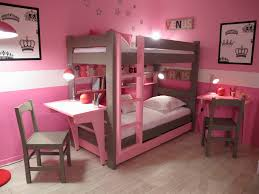bedroom designs for girls with bunk beds. Architecture Home Ideas Plus Decorative Bunk Beds Design Using Bed Desk Combo Bedroom Designs For Girls With N