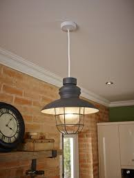 A Modern Take On A Fishermans Light Shade Great For A