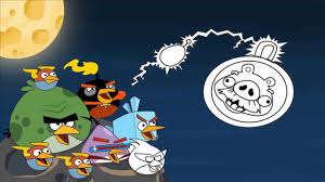 Angry Birds Space Drawing and Coloring Pages - Angry Birds Space ...