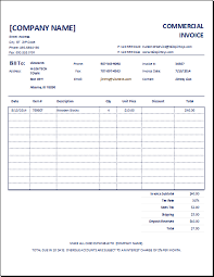 excel 2003 invoice template excel invoice template 2003 2 customizable commercial excel invoice