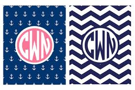 create binder cover create you a monogram binder cover by cnwilcox