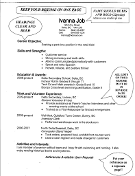 Sample High School Resume For College Application New Sample College