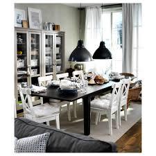STORNÄS Extendable table Brown-black 201/247/293x105 cm - IKEA