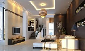 types of interior lighting. Luxury House With Modern Interior Lighting And Furniture : The Types Of Fixtures E