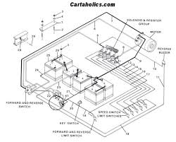 wiring diagram electric club car