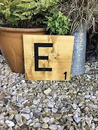 scrabble letters wall decor fresh our large wooden scrabble letters look great as a single letter or
