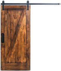 sliding barn door track stainless barnwood closet hardware system set wooden and rollers