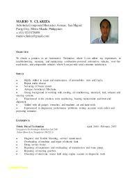 Resume For Auto Mechanic E2a934e7b3c6 Anyett