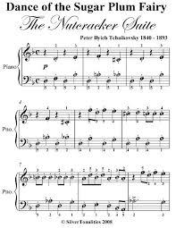 dance of the sugar plum fairy sheet music dance of the sugar plum fairy the nutcracker suite easy piano sheet