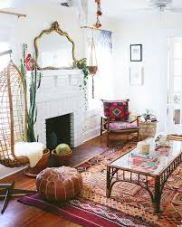 Cool Bohemian Living Room