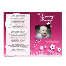 Child Funeral Program Template Floral Memorial Program Funeral Pamphlets 2