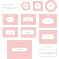 area rug size chart sizes in living room guide within inspirations