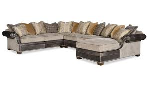 eclectic style large sectional sofa