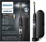 Phillips Sonicare ProtectiveClean 6100 Rechargeable Electric Toothbrush, Black, HX6870/41