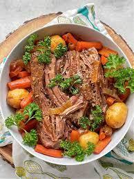 slow cooker sirloin tip roast