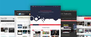 Website Templates Best 28 Free Website Templates You Must Look Out In 28 WebDesignColumn