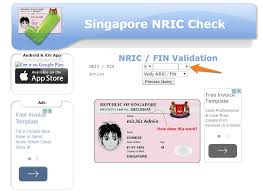 The Support Nric To Singapore Payrollhero How – Validate