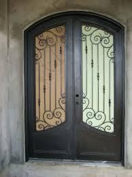 Front Doors  Awesome Iron Front Door  Wrought Iron Front Doors - Iron exterior door