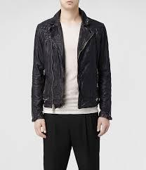 allsaints conroy leather er jacket