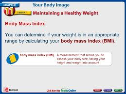 10 mass index you can determine
