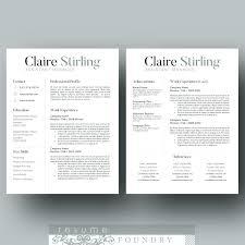 Free Modern Resume Template Word Modern Resume Template Word Creative Resume Templates Modern Resume