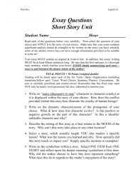 Critique Paper Example Short Story Floss Papers