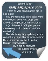 Free Download Exam Past Papers Gcse Sats A Level Edexcel Aqa Ocr