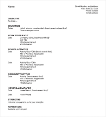 form of resume best resume formats 54 free samples examples format free