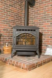 Wood Stove Backsplash Classy How To Design A Raised Hearth For Freestanding Wood Stoves Home