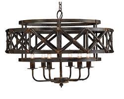 Magnolia Home Lighting Fixtures Magnolia Home Industrial Trestle Chandelier In 2020