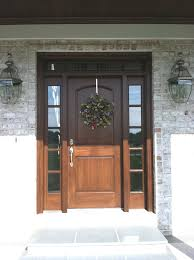 single front doors. Modren Single Doors Wood Front With Style Traditional Door Idea In Other  A Single And Dark For Ideal Home M