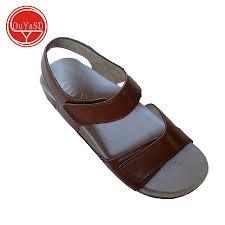 simple design men shoes soft leather sandals for men slides slip on comfortable male sandal all match shoes 39 46 n011