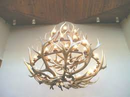 full size of lighting fixtures home depot small deer antler chandelier image of awesome for view