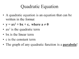 3 objectives i can find the x intercepts zeros or solutions roots of a quadratic with a calculator i can find the vertex point of a quadratic with a