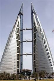 parallel planes in real life. (parallel plane) bahrain world trade center the two structures or twin towers are parallel planes in real life