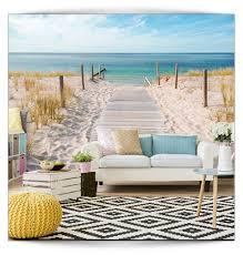 Vlies Fototapete Strand Meer Tapete Tapeten Schlafzimmer Wandbild
