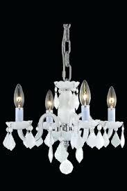 mini white chandelier 4 light white crystal chandelier bedroom bathroom kitchen dining room kristin 3 light